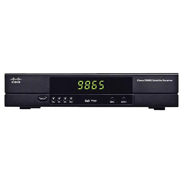 cisco d9865h digital satellite receiver with hd sd and hdmi output. Black Bedroom Furniture Sets. Home Design Ideas