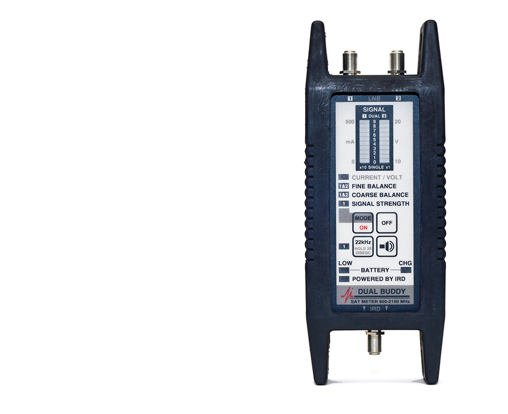 Applied Instruments - Dual Buddy - Satellite Signal Meter - Discontinued