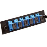 Multilink---MSC-06-SM-C-BLK---Adapter-panel-with-6-Simplex-SC_UPC-Adapters