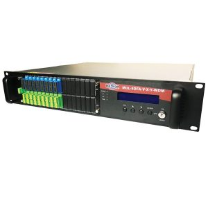 Multicom – MUL-EDFA-V-X-Y-WDM – High Power 1550nm EDFA with WDM, 2RU